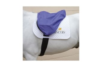 Hy Waterproof Saddle Cover (Navy)