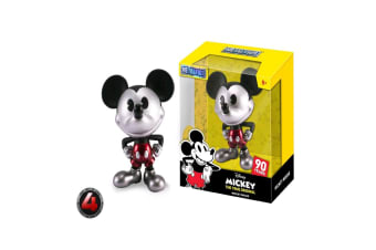 """Mickey Mouse 90th Mickey Black & Wht Red Trousers 4"""" Metals"""