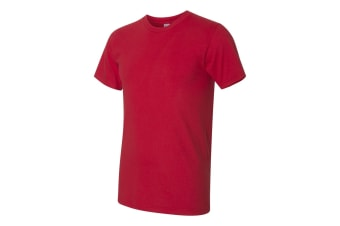 American Apparel Mens Fine Jersey Tee (Red) (3XL)