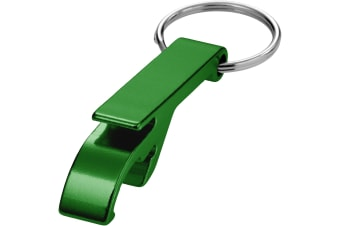 Bullet Tao Alu Bottle And Can Opener Key Chain (Green) (5.5 x 1 x 1.5 cm)