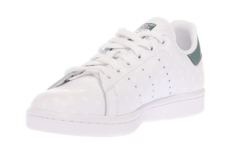 Adidas Originals Women's Stan Smith Shoes (White/Raw Green, Size 7) | Shoes  |
