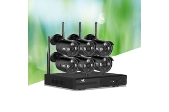 Wireless CCTV Security Cameras Set System Outdoor WIFI 1080P 8CH