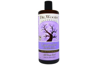 Dr. Woods Lavender Castile Soap with Fair Trade Shea Butter - 946ml