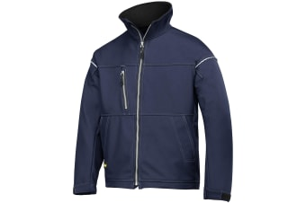 Snickers Mens Profiling Soft Shell Workwear Jacket (Navy)