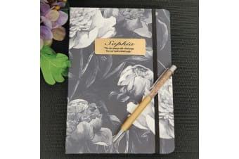 Personalised 2020 DTP Floral Diary with Pen