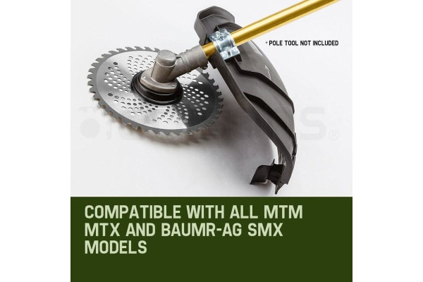 2xNEW MTM Carbide Tipped 40 Tooth Brush Cutter Blade Whipper Snipper Brushcutter