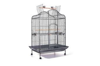 Delux Bird Cage with Stainless Steel Feeders