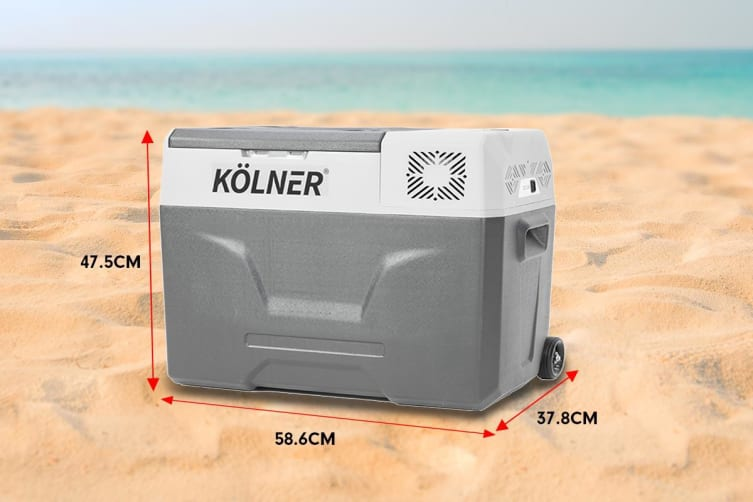 Kolner 40L Portable Fridge Cooler Freezer Camping Food Storage with Smart Fridge App