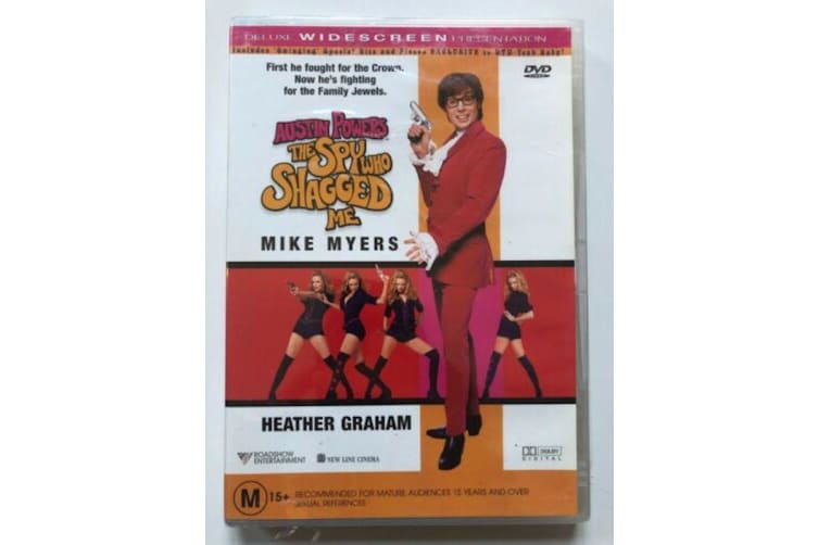 Austin Powers - The Spy Who Shagged Me -Comedy Rare- Aus Stock Preowned DVD Excellent Condition