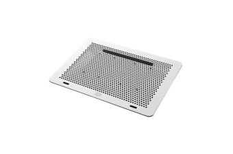 Cooler Master Aluminum MasterNotepal Laptop Cooling Pad 2x 80mm Cooler Fan with Cable Managment