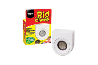 STV International The Big Cheese Sonic Mouse And Rat Repeller (May Vary) (One Size)