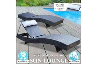 Milano Outdoor Single Sunlounge