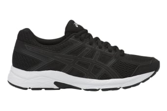 ASICS Women's Gel-Contend 4 Running Shoe (Black/White, Size 9)
