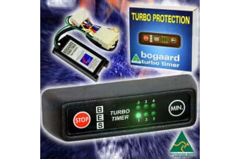 BOGAARD TURBO TIMER KIT FOR SUIT HOLDEN COLORADO PLUG AND PLAY HARNESS 925/RA+