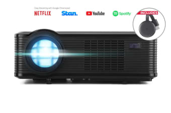 Kogan 3000 Lumens HD Projector + Chromecast 3