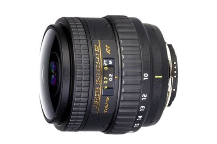 New Tokina AT-X 107 NH Fisheye 10-17mm f/3.5-4.5 DX Lens For Canon (FREE DELIVERY + 1 YEAR AU WARRANTY)