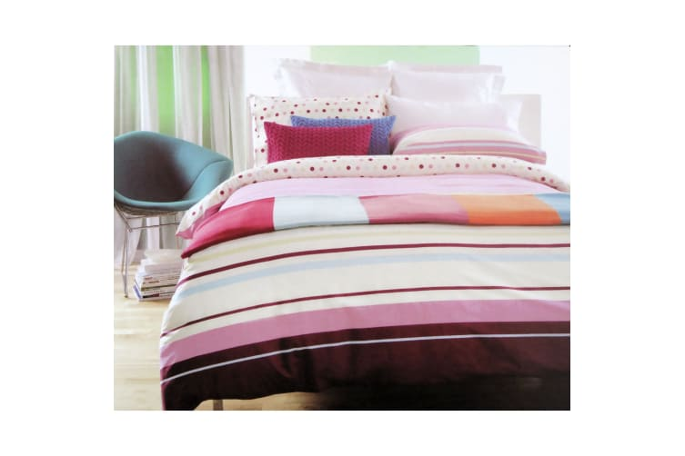 Carnival Reversible Quilt Cover Set Single