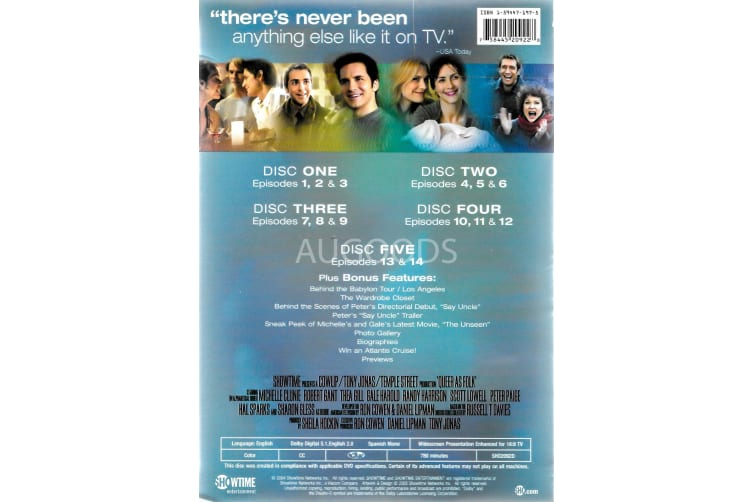 Queer as Folk: The Fifth and Final Season (Season 5) - Series Region 1 Preowned DVD: DISC LIKE NEW