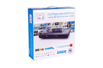 LASER DVD Player with HDMI & USB