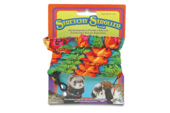 Superpet Stretchy Elasticated Small Animal Pet Leash (Multicoloured) (One Size)