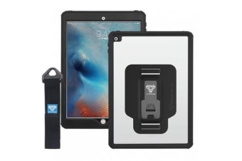Armor-X IP68 WaterProof  Case for iPad Pro 10.5  Model with Hand Strap  - Black