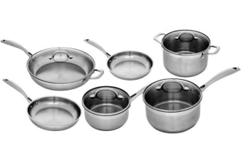Swiss Diamond Premium Steel Induction 6 Piece set