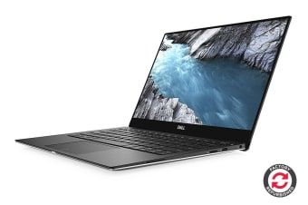 "Dell XPS 13 9370 13.3"" Windows 10 4K Touch Screen Laptop (i7-8550U, 16GB RAM, 1TB SSD, Silver) - Certified Refurbished"
