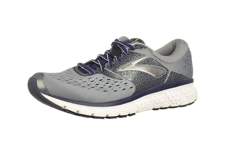 Brooks Men's Glycerin 16 (Grey/Navy/Black, Size 7.5)