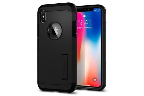 Spigen iPhone X Tough Armor Case Black