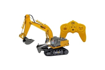Tractor Excavator Digger Toy - RC Remote Controlled 2.4GHz