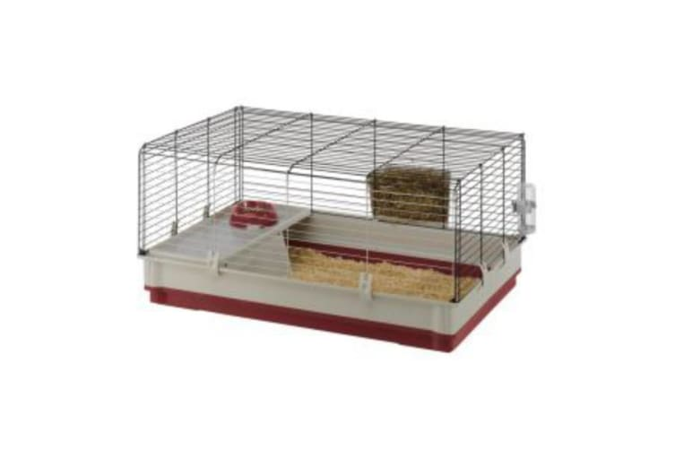 Ferplast Krolik Rabbit Cage (Red) (One Size)