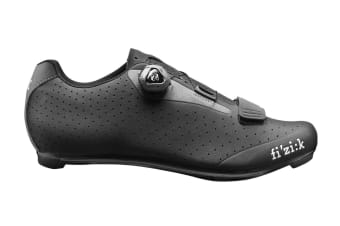Fizik R5 UOMO BOA Road Cycling Shoes Black/Dark Gray 39.5
