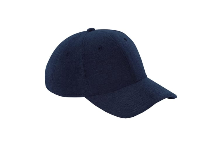 Beechfield Unisex Jersey Athleisure Baseball Cap (French Navy) (One Size)
