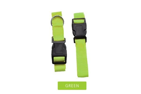 Adjustable Dog Leash Buddy Belt in GREEN