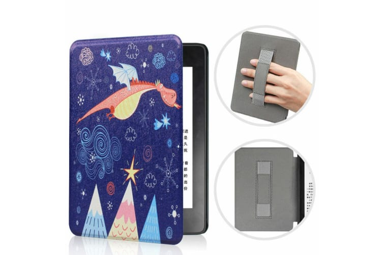 Leather Case Ultra Slim Magnetic Cover For Amazon All-new Kindle 10th Gen 2019-NO11 Pattern