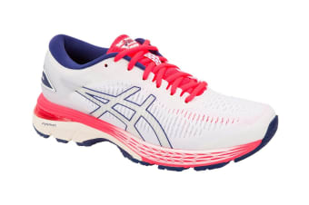 ASICS Women's Gel-Kayano 25 Running Shoe (White/White, Size 10.5)