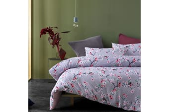 Cherry Blossom Quilt Cover Set by Big Sleep