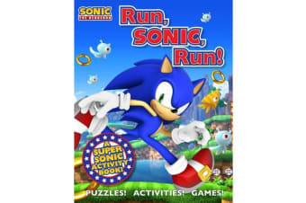 Sonic the Hedgehog Activity Book - A Sonic the Hedgehog Activity Book