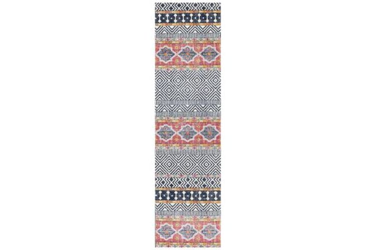 Amelia Multi Boho Durable Rug 330x240cm
