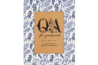 Q&a A Day For Grandparents - A 3-Year Journal of Memories and Mementos