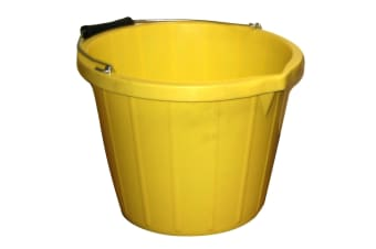 ProStable Water Bucket (Yellow) (3 Gallons)