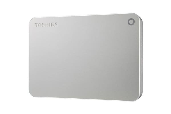 "Toshiba 2TB Canvio Premium 2.5"" USB 3.0 Portable Hard Drive with USB-C Adaptor (HDTW120AC3CA)"