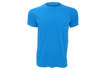 Anvil Mens Fashion Tee / T-Shirt (Caribbean Blue)