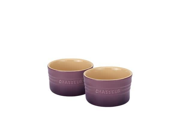 Chasseur La Cuisson Ramekin Set of 2 Plum