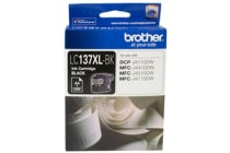 Brother LC-137XLBK Black Ink 1200pages,CP-J4110DW/MFC-J4410