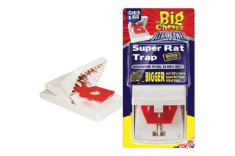 The Big Cheese Ultra Power Super Rat Trap (Multicoloured) (One Size)