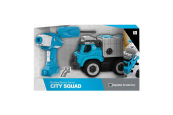 City Squad Remote Control Garbage Truck with Sounds