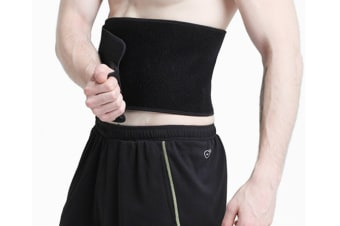 Sports Fitness Warm Waist Protector Breathable Slim Belly Waist Trimmer Band Belt