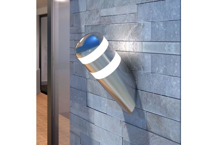 vidaXL Stainless Steel LED Wall Light Lamp LED included
