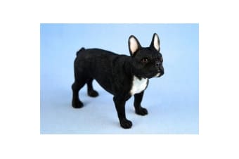 Black French Bulldog Figurine (Black)